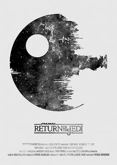 Star Wars : Episode V : Death Star : Minimalist Poster
