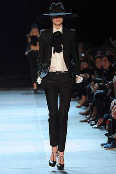 Saint Laurent Spring Summer 2013: 70s Rock 'N' Roll Wardrobe   Grazia Fashion Shows