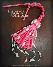 Inspirada por mis amores: CESTA DE CROCHET COLGANTE EN TOTORA CON BORLA Crochet Teddy Bear Pattern, Crochet Boots, Tassels, Art Projects, Cactus, Creations, Banner, Lily, Sewing