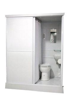 BIG-MOVE; Direct neer te zetten complete badkamer incl. wc, douche en wastafel…