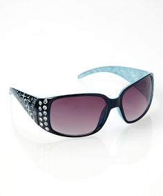 This Blue Rush Hour Sunglasses is perfect! #zulilyfinds
