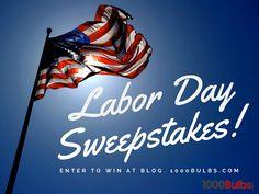 1000Bulbs.com Labor Day Sweepstakes