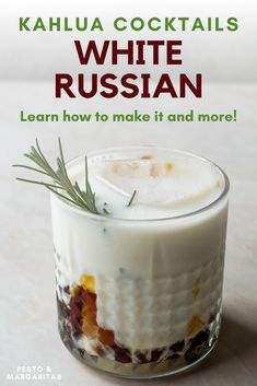 Kahlua is a coffee liqueur that features in some famous cocktails such as the White Russia. Here's a few of the best Kahlua cocktails to enjoy including simple Kahlua drinks with coffee as well as a little about the spirit itself Famous Cocktails, Easy Cocktails, Vodka Cocktails, Cocktail Drinks, Cocktail Recipes For A Crowd, Food For A Crowd, What Is Kahlua, Mojito, Kahlua Drinks