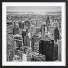 New York Skyline - JaySan Studio - Ingelijste poster