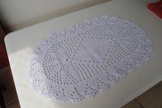 Tapete Oval - Crochet Rug - de Agulha Italiana Receita em  https://www.youtube.com/watch?v=k_elz1imOXc