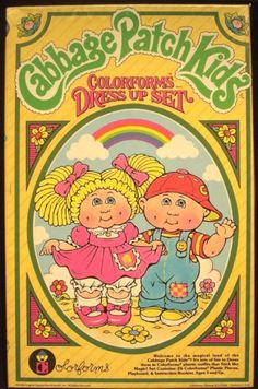 Cabbage Patch Kids Colorforms