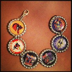 The Bad Birds of Baltimore bracelet for the Baltimore fans! by HochePotBoutique, $15.00 with free shipping
