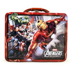 The Avengers Tin Box - Red