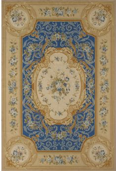 Rug by stairs and chair and side table. Wall Carpet, Rugs On Carpet, Room Carpet, Decoupage, Wooden Wall Panels, French Rococo, Aubusson Rugs, Magic Carpet, Carpet Design