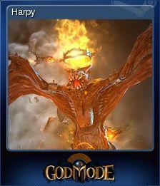 Cromo de Steam «Harpy» de God Mode