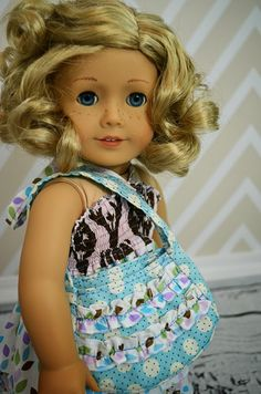 Free doll purse pattern - super cute for your american girl doll
