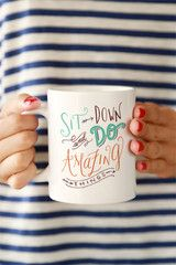Do Amazing Things Mug - Click & Blossom