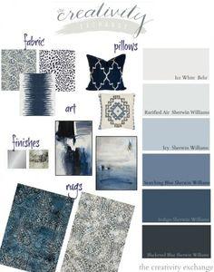 Layering Indigo, Black and Gray: Moody Monday