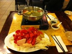 Hot Pot at Hong Kong Bistro in Seattle http://www.DreamBigwithThach.com