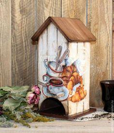 """Кухня ручной работы. Ярмарка Мастеров - ручная работа. Купить Чайный домик """" Кофе и круассаны"""". Handmade. Чайный домик"""