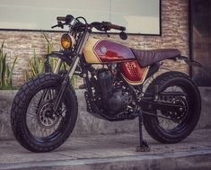 Honda XR125 by Jerry Formoso Kustoms