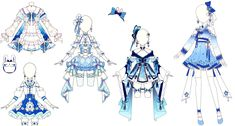 Fantasy Princess, Anime Outfits, Drawing Reference, Decorative Bells, Beautiful Dresses, Drawings, Character, Drawing Stuff, Inspiration
