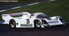 RSC Photo Gallery - World Sports Prototype Championship Donington 1990 - Porsche 962 no.39 - Racing Sports Cars