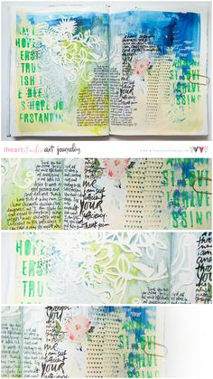 Art Journal Page :)                                                                                                                                                                                 More
