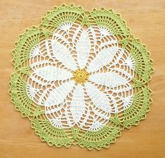 Sweet Daisy Doily - free pattern                                                                                                                                                                                 More
