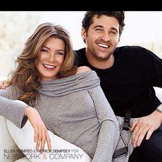 Patrick & Ellen for New York & Co. Love them!