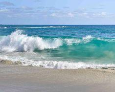 Beach Discover Ocean Photography - Pacific Ocean Sea Waves Blue Turquoise Coastal Nautical Wall Art Home Decor Print Waves Photography, Landscape Photography, Nature Photography, Portrait Photography, Wedding Photography, Seascape Paintings, Landscape Paintings, Ocean Pictures, Ocean Scenes