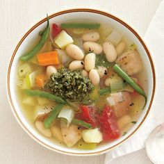 Fall Vegetable Stew with Mint Pesto by Cooking Light