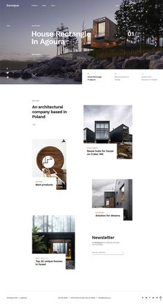 Baroque is clean and modern design responsive for # architecture and agency website with 7 homepage layouts and 47 layered psd Architecture Company, Baroque Architecture, Architecture Portfolio, Amazing Architecture, Architecture Design, Architecture Websites, Design Sites, Web Design Tips, Design Blog