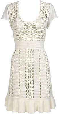 Hawaii Crochet Dress - I think it would be ...