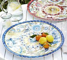 Cabo Melamine Platter #potterybarn