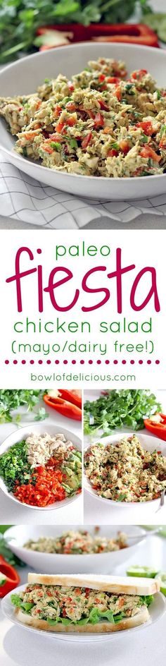 Paleo - Its like guacamole meets chicken salad, and its MUY delicioso! Avocado is used instead of mayo for a healthy, gluten free, dairy free, and paleo meal. Make it in bulk for lunch all week! - It's The Best Selling Book For Getting Started With Paleo Dairy Free Recipes, Paleo Recipes, Real Food Recipes, Chicken Recipes, Cooking Recipes, Gluten Free, Paleo Meals, Detox Recipes, Crockpot Meals