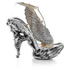 Fashions For All Alexander mcqueen crystal shoes
