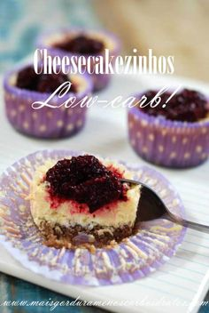 cheesecake sem carboidratos