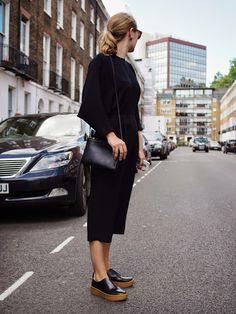 black minimalism. London.