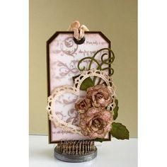 Heartfelt Creations - Vintage Floret Love Tag Project