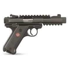You just found the best deal on the Ruger MKIV Tactical Black inch from GrabAGun, the cheapest online gun store. No hidden credit card fees, no transaction fees, just the lowest price on the entire line of Ruger Mark IV 22 pistols with cheap Ruger 22 Pistol, Ruger 22 45, Pistol For Women, Ruger Mark Iv, 22lr, Picatinny Rail, Guns And Ammo, Weapons Guns, Tactical Gear
