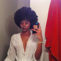 Natural hair Rules! - rabyrose:   You can start over every day .  #afro...