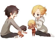 Eren and Annie. :')