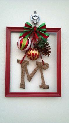 Christmas Frame wreath!