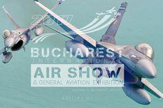 Forţele Aeriene Romane vor veni cu F-16 Fighting Falcon la BIAS 2017 Bucharest, Air Show, Roman, Aircraft, Movies, Movie Posters, Films, Aviation, Film Poster