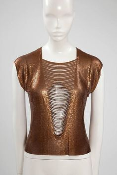 Paco Rabanne Chainmail Top  1990