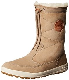 Lowa Women's Dalarna Mid WS Winter Fashion Boot, Light Brown, 8 M US ** Click image to review more details.