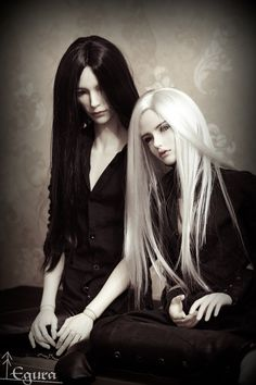 Adriel and Ingler by ~Egura on deviantART