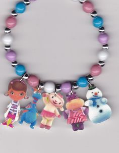 Doc McStuffins Inspired Bracelet by Oseweverything on Etsy, $6.50