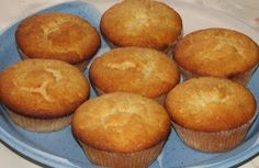 Gluteenitonta leivontaa: Sitruunarahka-muffinssit
