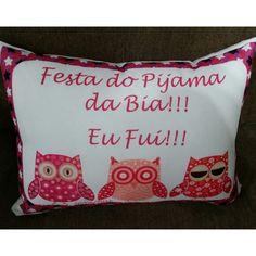 Almofada Festa do Pijama Corujas