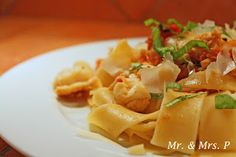 Mr and Mrs P: Lobster Pappardelle