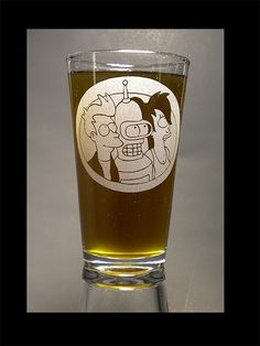 Futurama Pint Glass!