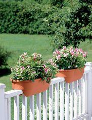 Saddle planters - Gardener's Supply Company