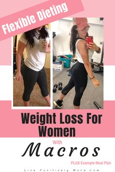 Weight Loss For Women. Weight Loss For Women With Macros Plus Example Meal Plan! Weight Loss For Women, Weight Loss Goals, Best Weight Loss, Fat Women, Help Losing Weight, Ways To Lose Weight, Free Weight Loss Programs, Best Fat Burning Workout, Ketogenic Diet Weight Loss